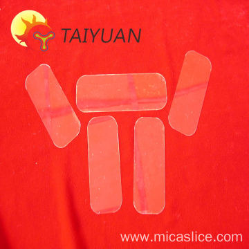 High temperature resistant transparent material